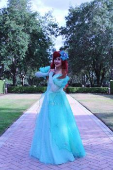 Ariel Cosplay (Good day at work!) by LuxRed