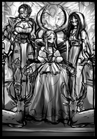 Drifters OC's - 'The Three Faces of Eve' by smolspuff