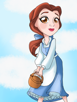 Color: Enchanted tales Belle by Smileverse