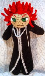 Axel Amigurumi Tribute Doll by voxmortuum