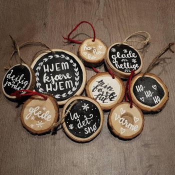 Woodslice Ornaments by Albiona