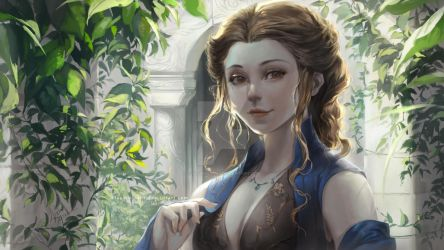 [GoT] - Margaery Tyrell by Claparo-Sans