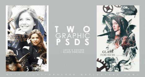 Two Cover PSDs by lottesgraphics