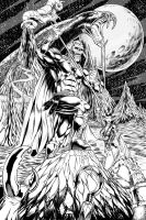 Skeletor at Snake Mountain by Rob Marzullo by robertmarzullo