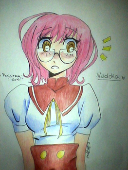 Nodoka From Project Doki Doki by lubernugget