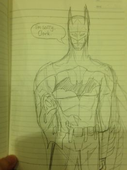 Batman Sketch by Zundzer