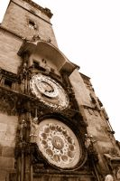 horloge tower prague by soys