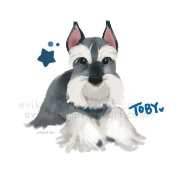 Lovely Toby by evikted
