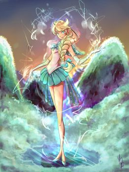 Sailor Elsa. by KimiK-A