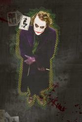 Why so serious by MarieZombie