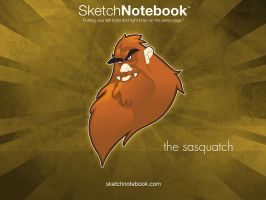 SKNB Desktop Sasquatch by WarBrown