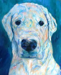 Blue molly by PawPrintArtists