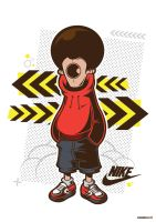 Nike Vector Illustration by funky23