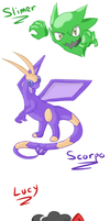 Pokemon: Purple Version Sketchdump by GECKO-Nuzlockes