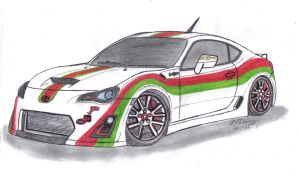 Toyota GT86 CR by Mister-Lou