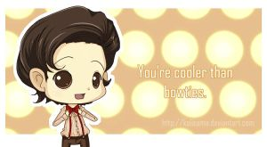 Doctor Who: Cooler Than Bowties Valentine by Kalisama