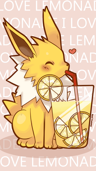 Jolteon Phone Wallpaper FREE by SeviYummy