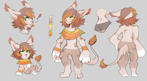 Egyptian Calico auction [OPEN] by SimpleGuitar