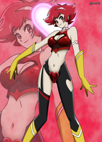 Cutie Honey by Huramechi