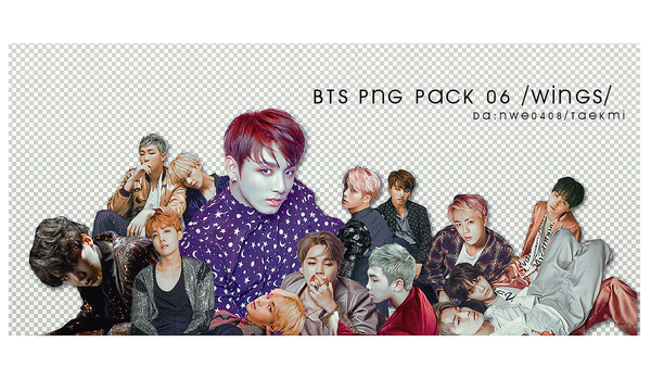 43 / BTS Wings PNG PACK 06 by NWE0408