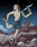 The Gods - Hermes by MadFretsy