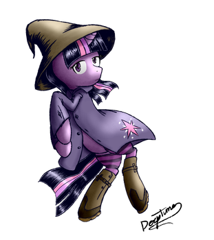 Twilight Comic Style by AI-battle-programer