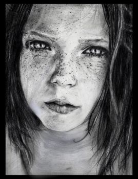 Freckles like stars by ivaug