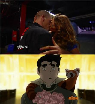 Bolin walks in on John Cena and Eve during Raw by DXvsNWO1994