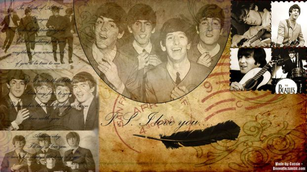 The Beatles Wallpaper II by beeeatle