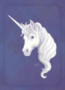 Creatures of Myth - Unicorn by thecapturedspy