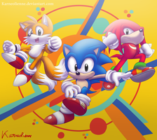 Sonic Mania by Karneolienne