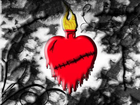 sacred heart by thebloodybelle