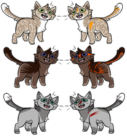 CLOSED Tribal/Non-Tribal Cats! by LillyofIndominus