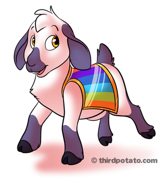 Goat for a new project by ThirdPotato