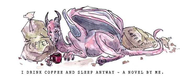 Coffee Dragon by Averinn