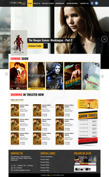 WP Cinema Template