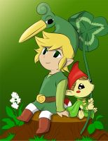 Minish Cap by frozen--phoenix