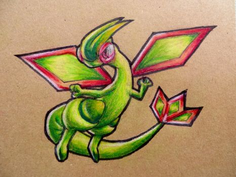 Just a Flygon by TheSagnip
