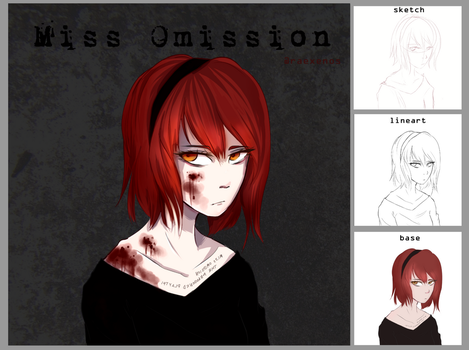 Miss Omission   AT by raexenos