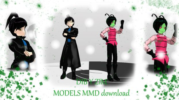 MMD DIB and ZIM download by daregindemone04