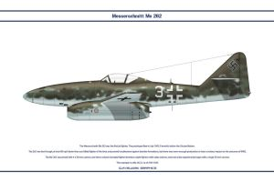 Me 262 JV44 1 by WS-Clave