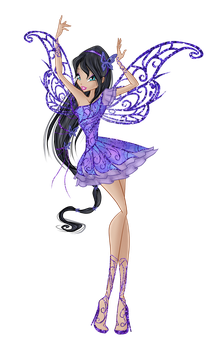 Vanellope Butteflyix Couture by WinxCLUBbrazil