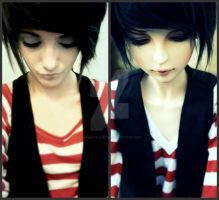 Look alike BJD by Hypnotic-Circus