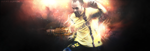 Iniesta Ft. Buffon by FuTboleroArTs