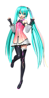 Project Diva Future Tone: Star Voice Miku by Tuni-kun