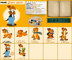 Wyngro - Shay ref sheet by Anhrak