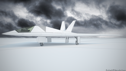 Stealth aircraft  - WIP 1 by RatchetHD