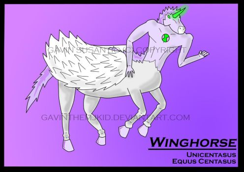 Winghorse Contest Entry by Genelatour-X
