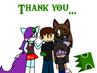 Thank you... by FlameRose97