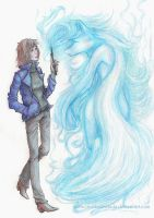 Expecto Patronum by theMaianebula